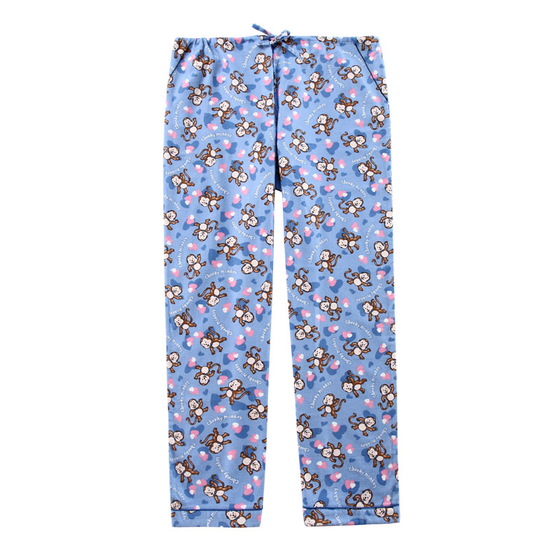 cotton flannel pajama pant-2