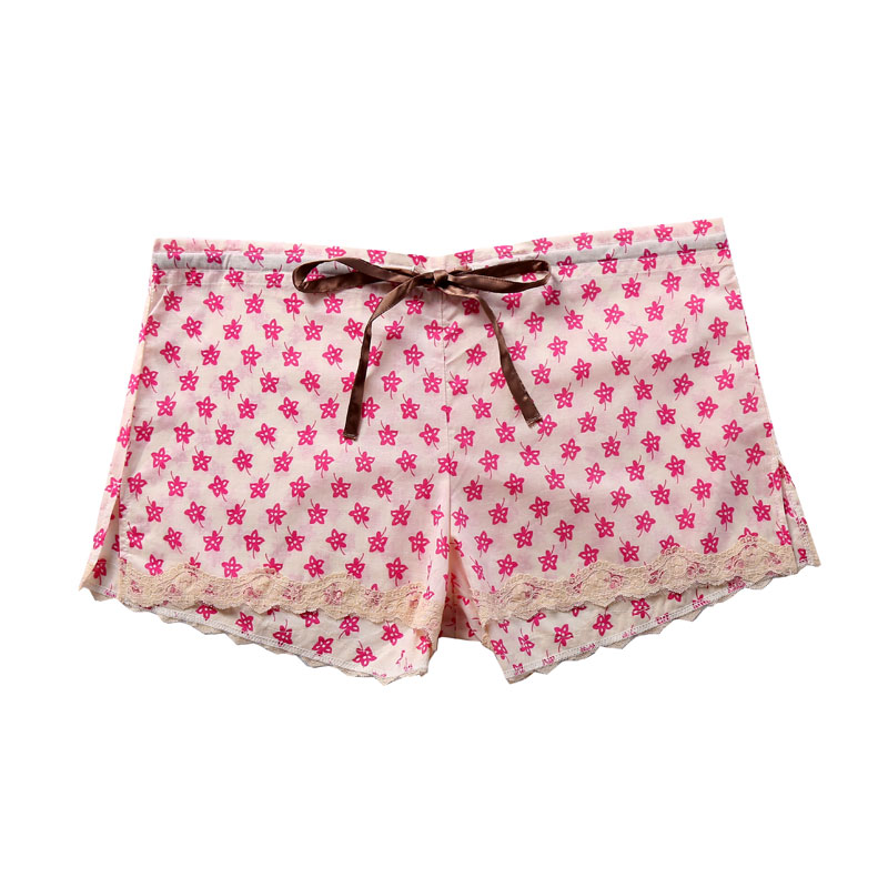cotton lawn pajama shorts-1