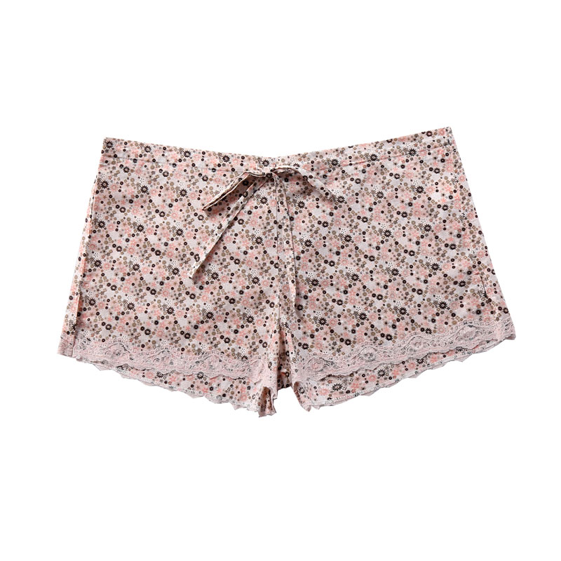 cotton lawn pajama shorts-2